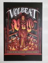 VOLBEAT Let's Boogie. Telia Parken Copenhagen Denmark 11 x 17 cardstock ... - $14.95