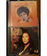 Aretha Franklin Lot Of 2 Cds: 30 Greatest Hits & Greatest Hits 1980-1994 - $10.00