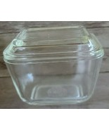 """Vintage PYREX ~ """"Clear"""" Refrigerator Dish ~ 0501 ~ With Lid 501-C ~ (10) - $29.70"""