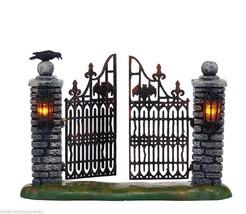 Department 56 Halloween Village Spooky Wrought Iron Gate - ₨2,634.14 INR