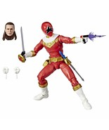 Power Rangers Lightning Collection Zeo Red Ranger 6-Inch Premium Collect... - $18.79