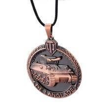 Word of Tanks Unisex Pendant / Necklace with Chain - Gaming, 3 Colour Variants image 5