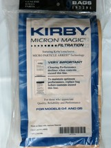 6 KIRBY VACUUM CLEANER BAGS G3 G4 G5 G6 ULTIMATE G G7 G7D MICRON MAGIC - $13.85