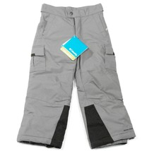 Columbia Omni Shield Gray Insulated Snow Pants Boys 4-5 4 5 NWT - $51.97