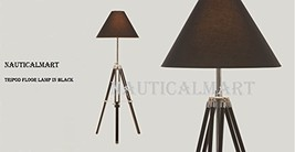 Tripod Floor Lamp In Black By Nauticalmart - $147.51