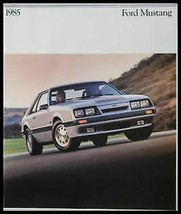 1985 Ford Mustang Original Brochure, GT SVO, Colors - $17.09
