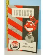 1949 Cleveland Indians Baseball Scorecard Program v New York Yankees Uns... - $28.71