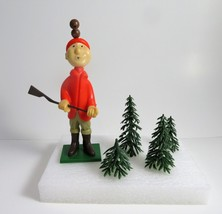 Vtg 1972 WILTON Cake Topper Duck Hunter Theme #1306-1004 With Background... - $12.06
