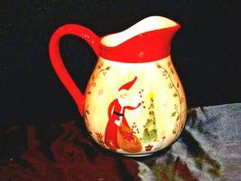 Santa Pitcher AA19-1466 Vintage image 3