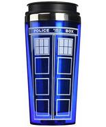 "Bif Bang Pow!""Doctor Who TARDIS"" Travel Mug, 16 oz, Blue - $228,17 MXN"