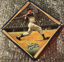 MLB Bradford Exchange 500 Home Run Plate Set Ruth Mays Mantle And Williams - $25.00