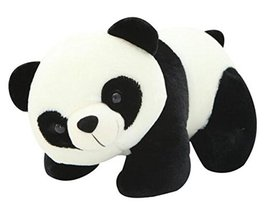 Black Temptation Plush Doll for Kids Panda Plush Toy Stuffed Gift (H) 30CM - $18.31