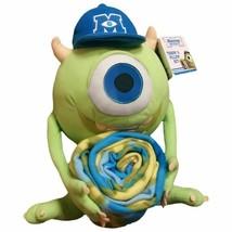 NEW! Disney Pixar Monsters University Pillow and Throw Set Blanket Chara... - $34.30 CAD