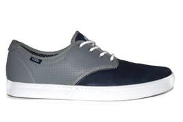 Vans Ludlow (Dots) Navy Grey White Casual Classic Sneakers MEN'S 6.5 WOMEN'S 8 - $44.95