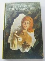 Nancy Drew Mystery of the Tolling Bell Book 1976 Printing #23 Mystery Ha... - $10.79