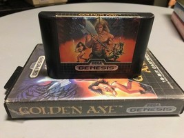Golden Axe (Sega Genesis, 1989) Authentic, Cover Box and Cartridge Only - $20.29