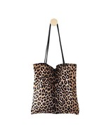 Womens Leopard Tote Casual Travel Shoulder Purse Bag Handbag College (Ap... - $22.03