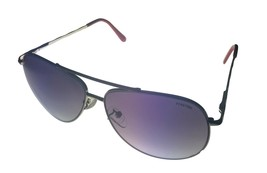 Kenneth Cole Reaction  Mens Sunglass Silver Red Aviator, KC1282 10B - $17.99
