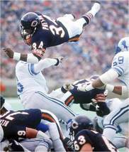 Walter Payton Chicago Bears CTK Vintage 8X10 Color Football Memorabilia Photo - $6.99