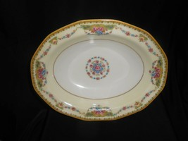 Limoges Vegetable Dish Bowl Flower Swags 1920-1936 Theodore Haviland - $23.75