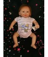 """20"""" Lifelike Reborn Baby Boy Dolls Soft  Silicone Eyes Open Hair Realist... - £74.17 GBP"""