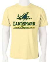 Landshark Dri Fit graphic T-shirt moisture wicking beach beer fishing SPF tee image 1