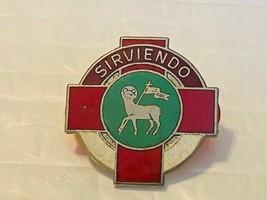 US Military 369th Combat Hospital Insignia Pin - Sirviendo - $10.00