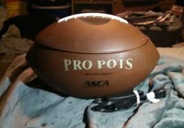 Pro Pots Football Slow Cooker Crock Pot/Dip Warmer 1.5 QT Nacho Party Bo... - $13.85