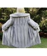Cerulean Blue Sapphire Full Length Mink Coat RARE!  - $1,450.00