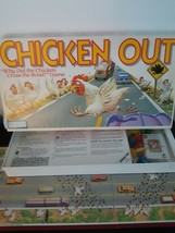 Vintage Chicken Out Board Game Parker Brothers 100% Complete 1988 2 to 4... - $20.26