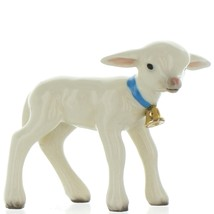 Hagen Renaker Miniature Lamb Large with Bell Ceramic Figurine