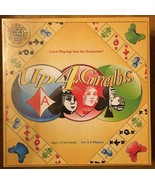 Up 4 Grabs Card Playing Board GAME New Sealed - $25.99