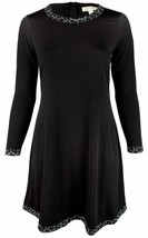 Michael Michael Kors Women'S Plus Size Border-Print Fit & Flare Dress - $118.73