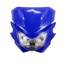 Custom 12V Blue Street Fighter Headlight Headlamp Fairing Kit For Honda Suzuki - $22.76