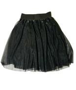 Material Girl Skirt Black A Line  Large - $12.46