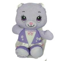 "Fisher Price Doodle Bear Purple Ballerina Plush Stuffed Animal 2011 15"" - $15.84"