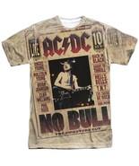 AC/DC No Bull Concert Tour Live Poster Allover Front Sublimation T-shirt... - £22.59 GBP+