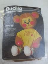 BUCILLA Needlecraft HUGGIE BEAR Applique & Embroidery Kit #3626 - 13 1/2... - $14.85