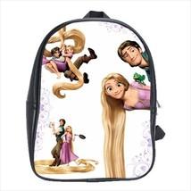 backpack school bag rapunzel tangled prince princess hair hameleon - $42.00