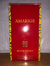 Givenchy Paris AMARIGE Perfume 3.3oz EDT New In Sealed Box As Pictured A... - $58.18
