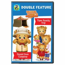 Daniel Tiger's Neighborhood Double Feature: Daniel Goes Camping and Tige... - $10.68