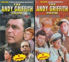 The Andy Griffith Show Collector's Edition Vol. 1 & 2 [VHS] [VHS Tape]