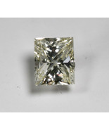 Certified 1.51ct Princess Cut Diamond GIA M Color SI2 Clarity Excellent ... - $3,995.00