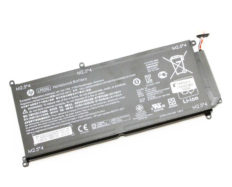 Lp03xl battery 807417 005 hstnn db6x 805094 005 hstnn ub6r hstnn db7c for hp envy 15 ae m6 p