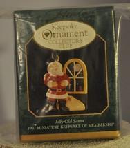 Hallmark - Jolly Old Santa - Miniature Collector Club - Keepsake Ornament - $8.31