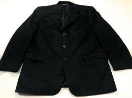 Jack Victor Loro Piana Cashmere Black 42R Blazer Sport Coat Jacket 42 Re... - $129.99