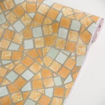 Colorful Mosaic - Self-Adhesive Wallpaper Home Decor(Roll) - $19.79