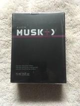 Avon Musk Storm Eau De Toilette Spray 2.5 Fl Oz Men's Cologne - $13.86