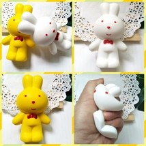 NEW 13cm Slow Rising Stress Rabbit Giant Squishies Squishy Kids Cute Toy Gifts - $3.19
