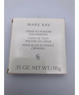 MARY KAY CREAM-TO-POWDER FOUNDATION BRONZE 1 New Vintage Stock Made in I... - $17.09